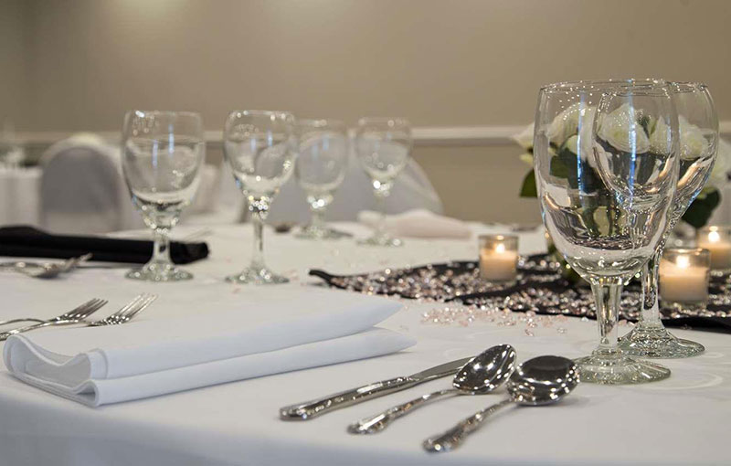 Event Space Table Setting
